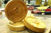 Hoe een sjabloon wilt gebruiken om te schakelen van veelvouden op een hout-draaibank