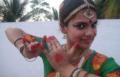 Hoe te dragen een Bharatanatyam dans jurk