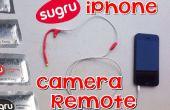 Sugru iPhone Camera Remote met Lego Hand