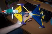 Knex Firehawk-Banshee gassamenstelling-straaljager!
