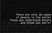 Leren van binaire