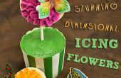 Dimensionale Icing bloemen
