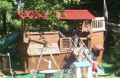 Piratenschip Playhouse / Treehouse / Fort / Swingset / In de problemen met vrouw