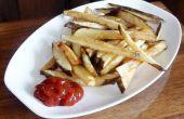 KOUDE olie frietjes & Potato Chips