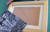 Magnetische frame voor dibond gemonteerd foto's