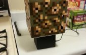 Minecraft Glowstone kubus Lamp