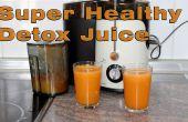 Super gezonde wortel, sinaasappel en gember sap recept voor Detox