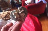 Hart van Origami met een Dollar en een kwart