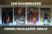LED verlichte Comic/Magazine plank
