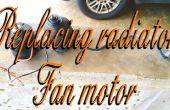 Ter vervanging van een Radiator Fan Motor!
