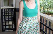 Hoe maak je een eenvoudige jurk (voor goedkoop!)