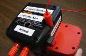 Model raket lancering Controller toegevoegd voor Power Tool Battery Charger