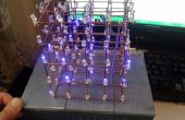 5 x 5 x 5 LED kubus (Arduino)