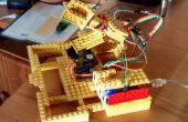 Arduino & Lego Solar Tracker (dubbele as)