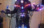 Cyborg cybernetische robotic machine exoten Laser roker LED's Halloween Costume! LEGIT