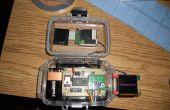 GPS HUD for sneeuwscooter/Motorhelm