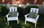 Pallet Adirondack stoel