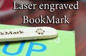 Laser gegraveerd bladwijzer met een goedkope Laser graveur