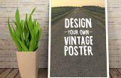 Een Vintage inspirerende Poster ontwerpen