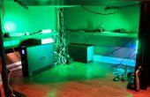 LED Undercabinet / onder Bureau verlichting met Dimmer en Wireless Remote