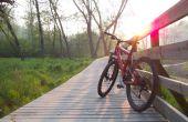 Hoe je mooie fiets opsluiten op het werk
