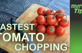Hoe te knippen een stelletje tomaten
