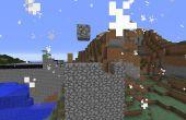 Zelf regeneratie muur in minecraft