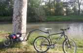 Enkele montage fiets aanhangwagen