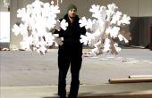 3D puzzel piepschuim sneeuwvlokken