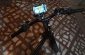Low-Cost fiets GSM Mount (oude Deodorant flessen) met