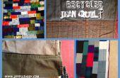 Hoe maak je een QUILT uit gerecycleerd JEANS