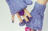 Hoe maak je Glittens (Vingerloze handschoenen-wanten)