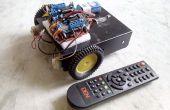 Maak zelf een TV afstandsbediening gecontroleerde Arduino Robot!