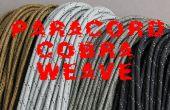 Cobra weave paracord