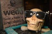 Yorick, A Twitter vertellen praten Skull
