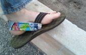 Caprisun Pouch Heelstraps voor sandalen