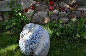 Hoe maak je een tuin sculptuur