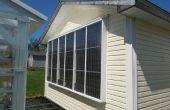 Mijn Garage van de Eco-vriendelijke kachel: Een pneumatische thermische zonnecollector
