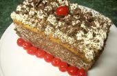 Hoe maak je een Angel Food Tiramisu taart