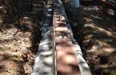 Truc voor het bijvoegen van de Sill platen aan betonnen fundering