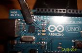 LED verwijderen Arduino Board!