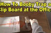 Hoe Booby Trap een Clip Board! (Kantoor/School Prank)