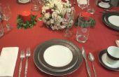 Het instellen van een formele eettafel