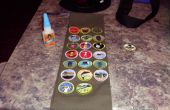 Het gebruik van Gorilla lijm op je Merit Badge sash