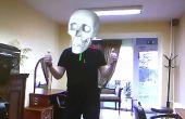 Augmented Reality en Kinect: zijvlakken van schedel en Iron Man masker
