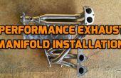 Uitlaat spruitstuk vervanging (Honda Civic 1999 D15B motor en het Chassis van de EK3)!
