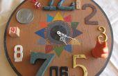 Functionele gevonden Art Assemblage - Clock