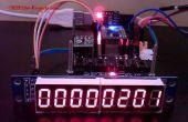 MAX7219 - 8 cijferige LED Module beeldschermstuurprogramma voor ESP8266