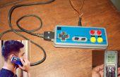 Een andere spelbesturing Mod. NES-telefoon / Nessy telefoon. Van Nes-Controller (of elke controller) & A Donor Cellphone.