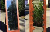 Faux Live rand houten spiegel